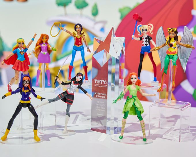 Mattel Wins Toy Of The Year Award For DC Super Hero Girls(TM) in the Action Figure Category