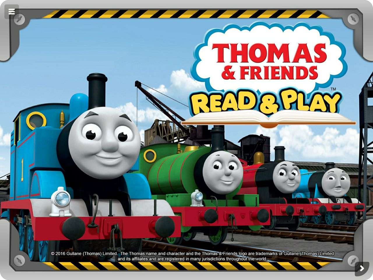 Thomas FriendsTM Read Play Learning App E