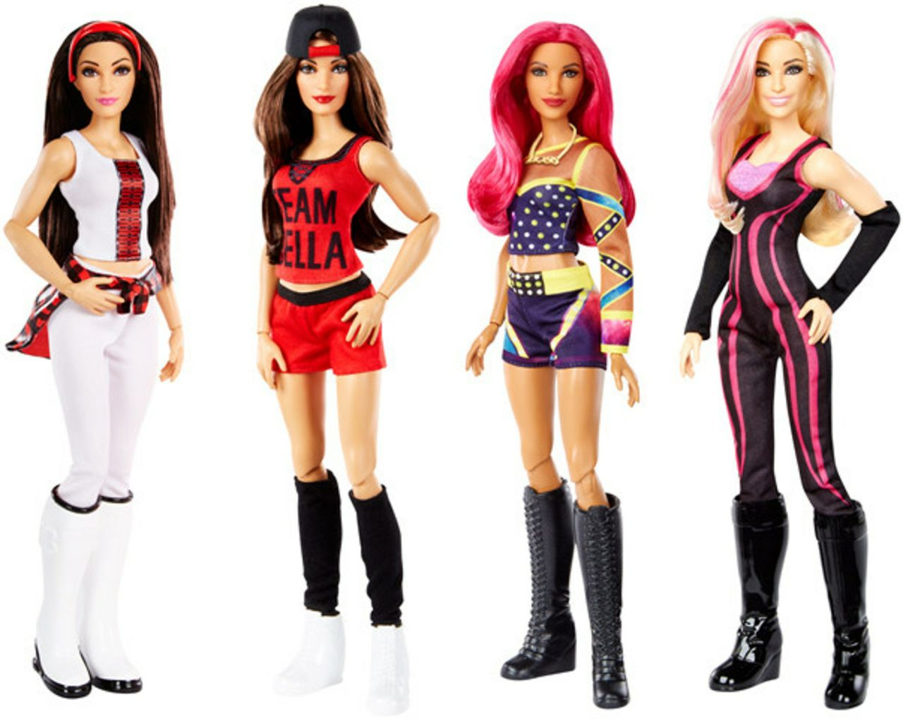 Mattel And WWE® Launch Girls Product Line