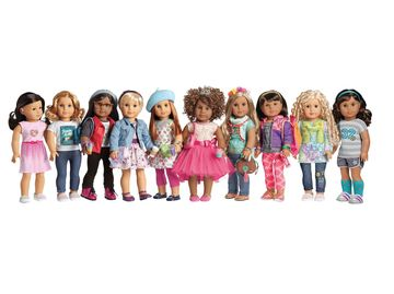 American Girl Create Your Own Dolls