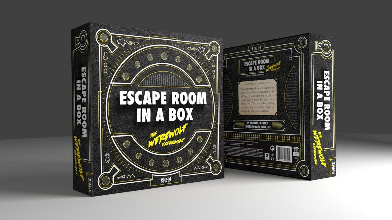 MATTEL DEBUTS NEW ADULT GAME -- ESCAPE ROOM IN A BOX