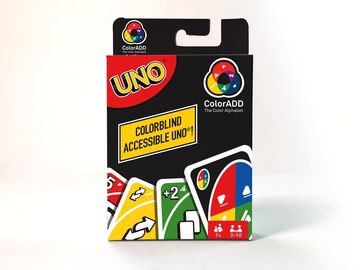 UNO Colorblind Cards Packaging