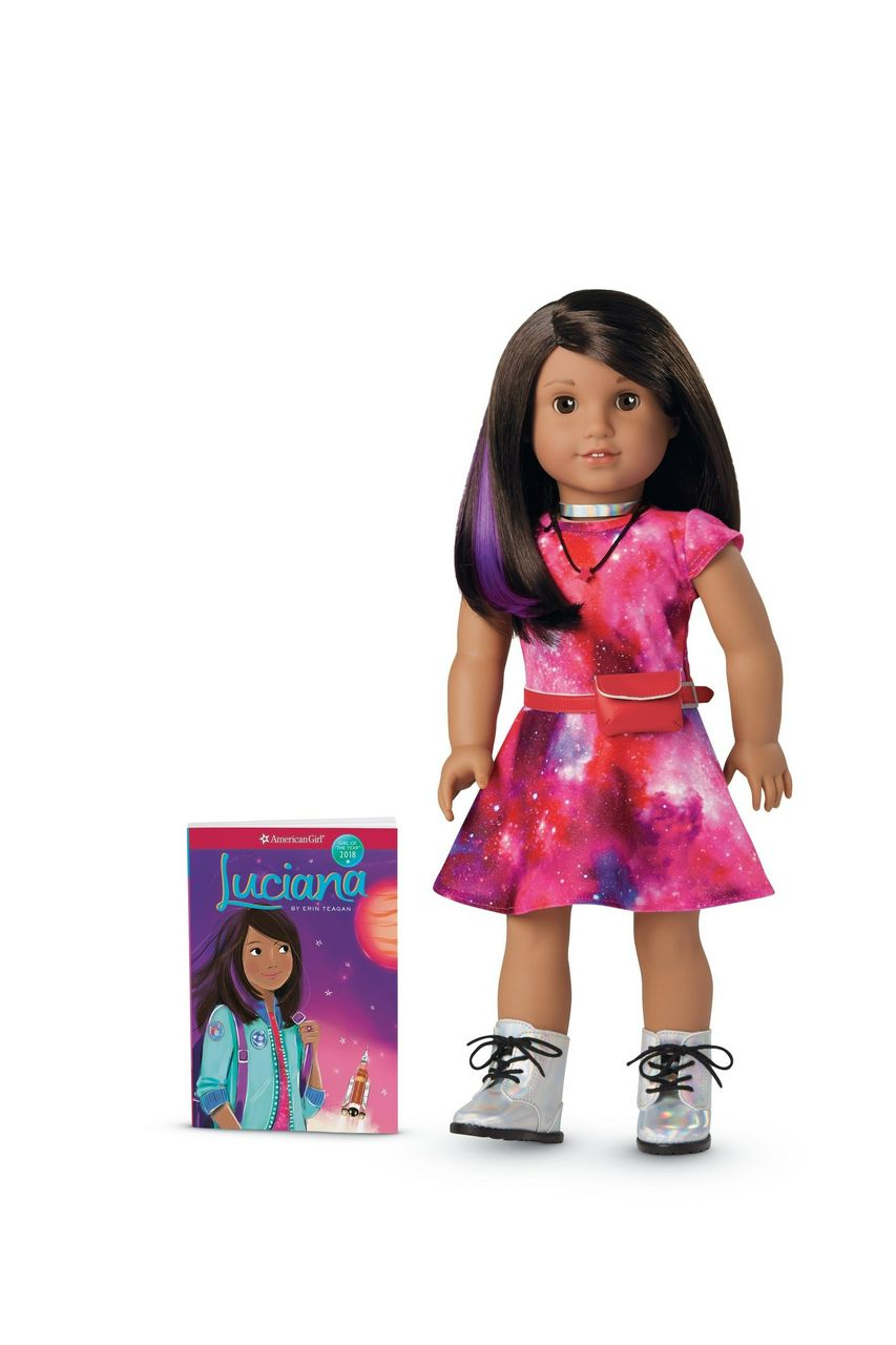 American Girl's 2018 Girl Of The Year(TM) Is On A Mission To Inspire Girls To Push Beyond Boundaries And Reach For The Stars
