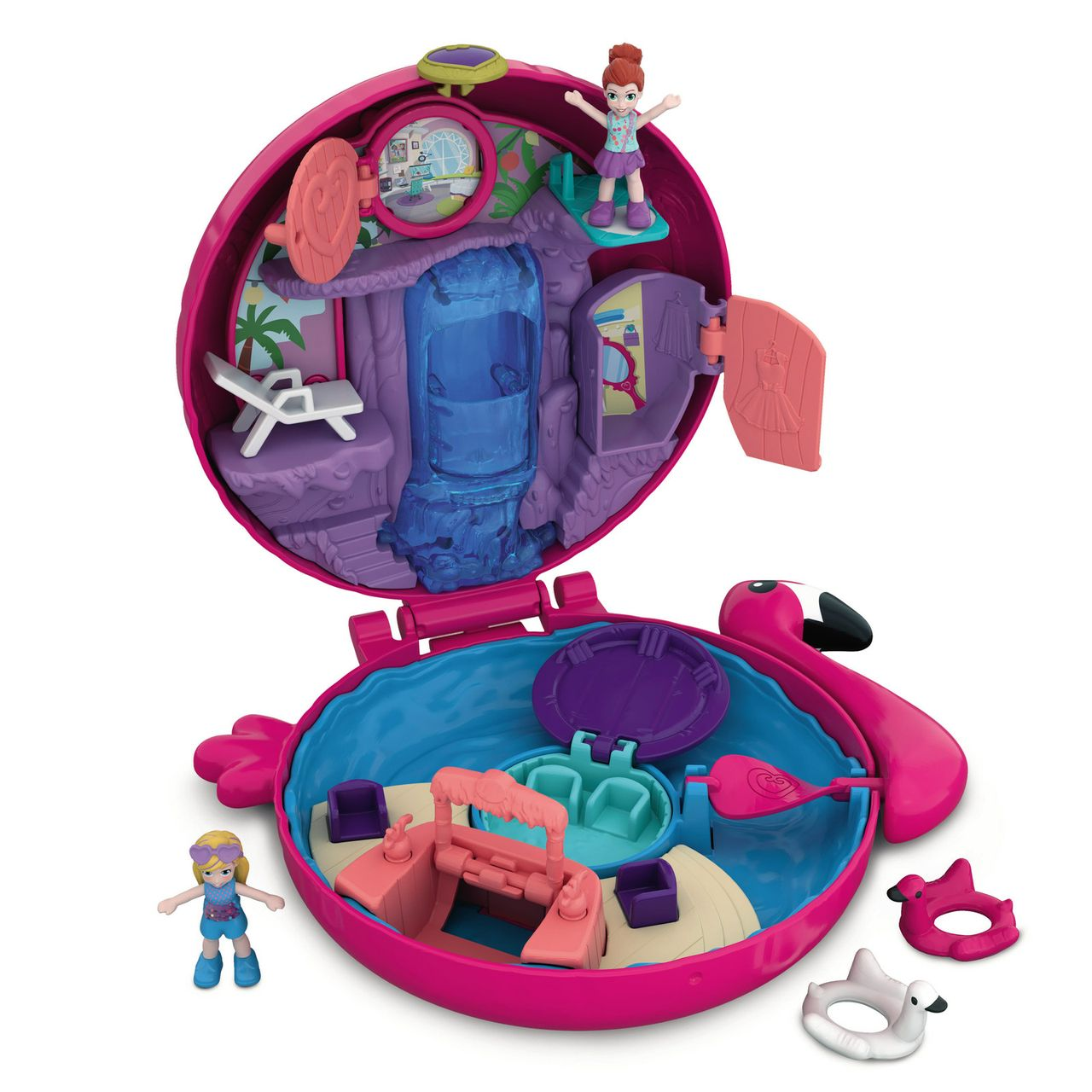 Mattel Polly Pocket Flamingo