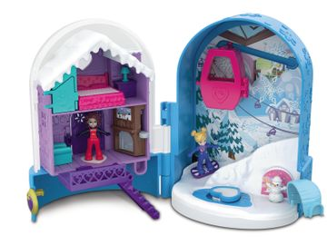 Mattel Polly Pocket Snow Globe