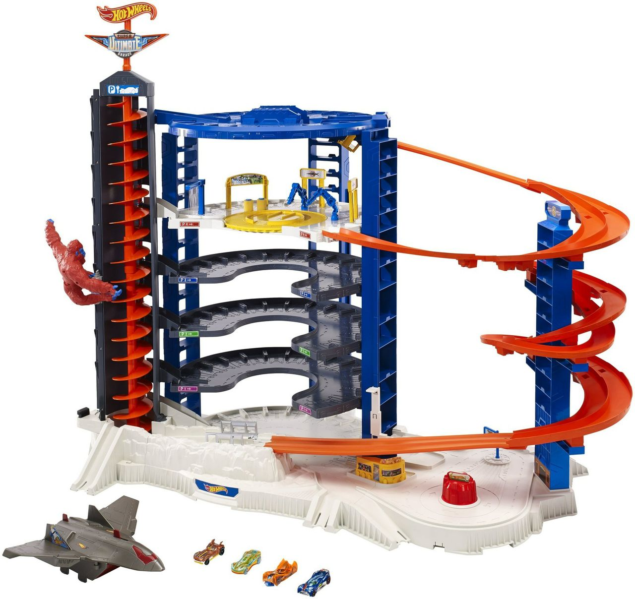 Mattel® Wins Toy Of The Year Award For The Hot Wheels® Super Ultimate Garage In The Playset Of The Year Category