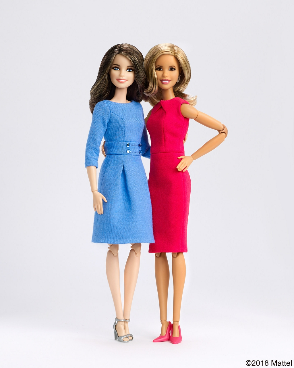 Barbie Honors Savannah Guthrie And Hoda Kotb As Role Models With One-Of-A-Kind Dolls