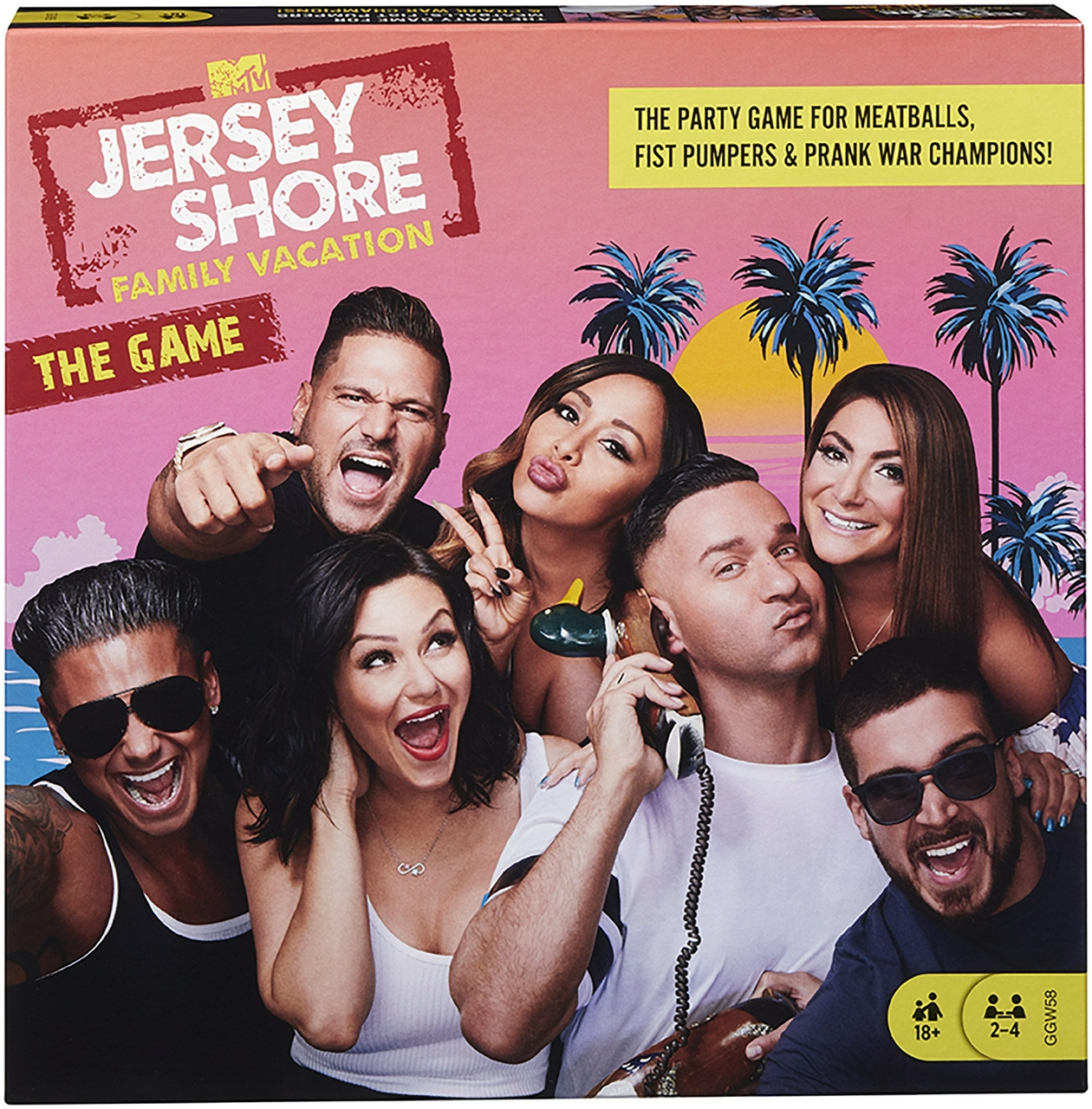 "Mattel® Introduces ""Jersey Shore Family Vacation"" Board Game"