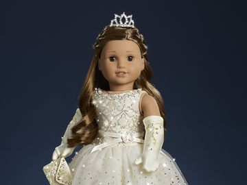 American Girl Holiday Collector Doll with Swarovski Crystals