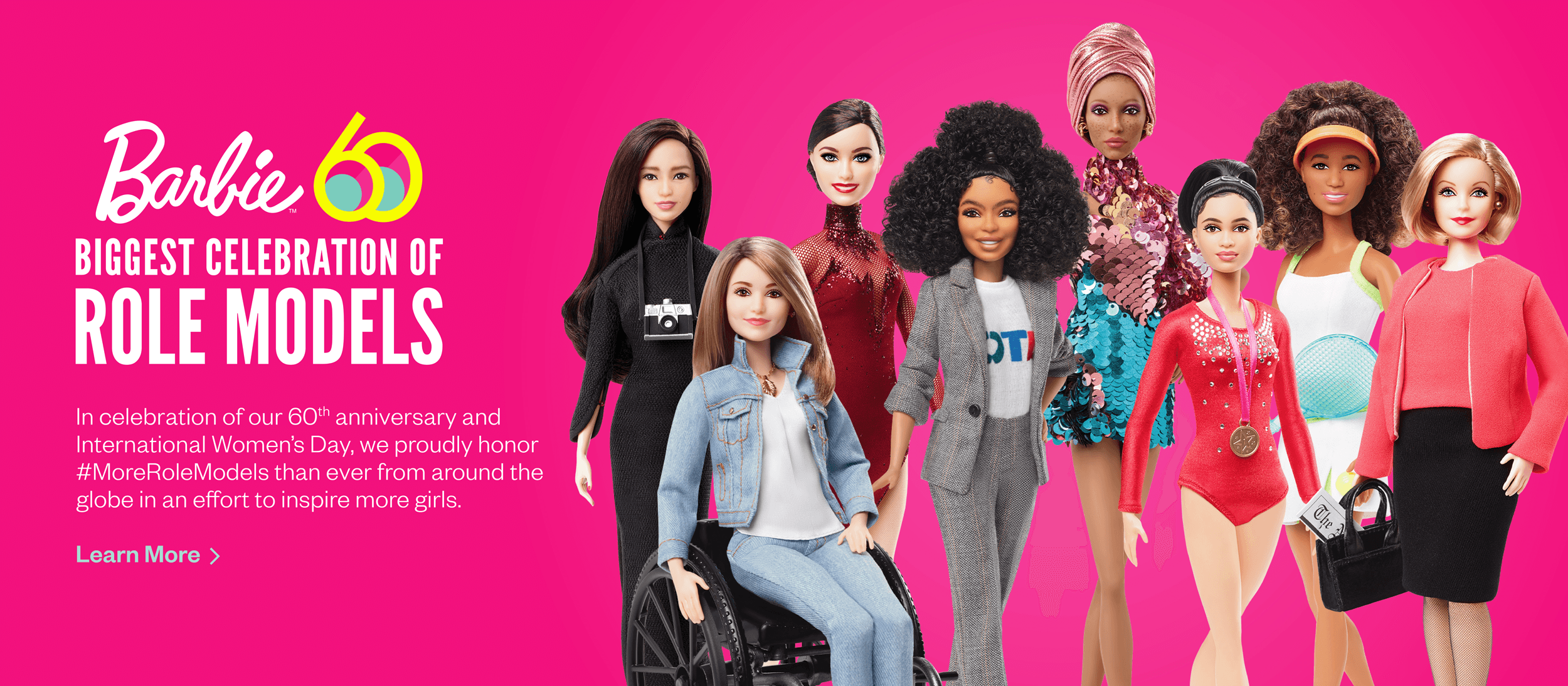 Barbie Biggest Celebration of Role Models