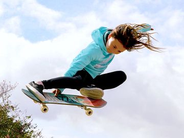 Polly Pocket(TM) Signs 10-Year-Old Skateboarder Sky Brown As Global Brand Ambassador