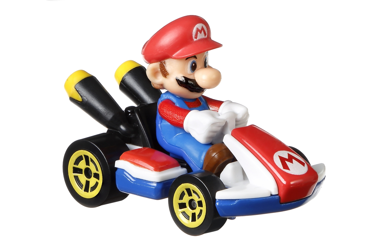 Hot Wheels Mario Kart Replica Die-cast
