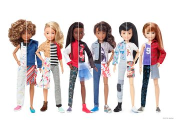 Mattel Launches Gender Inclusive Doll Line Inviting All Kids to Play