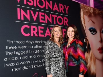 Janice Ross, President of WIT, and Amy Thompson, Chief People Officer of Mattel