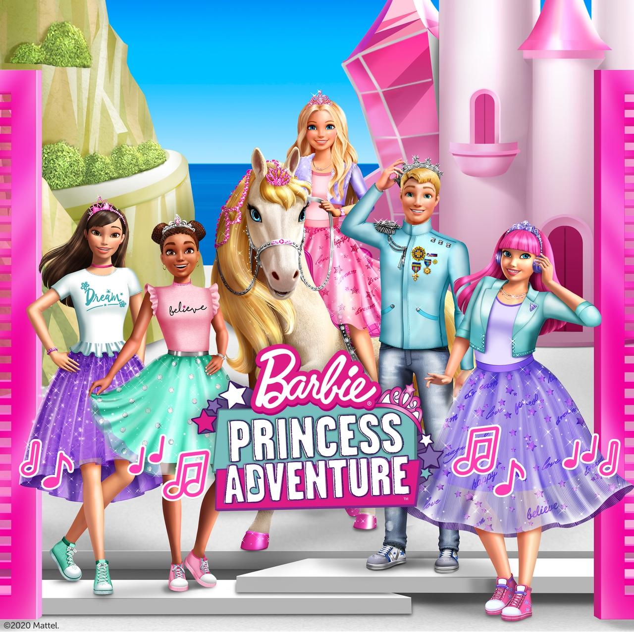 PRIMARY Barbie Princess Adventure Group