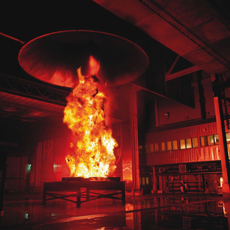Fire test 1