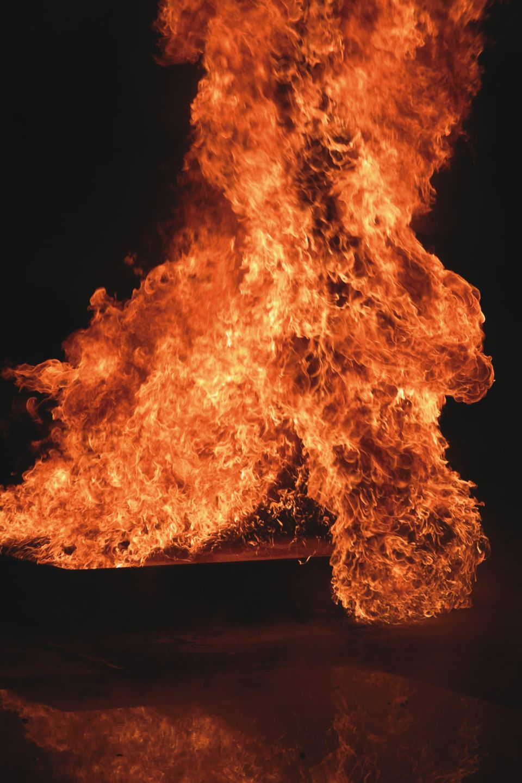 Fire test 2