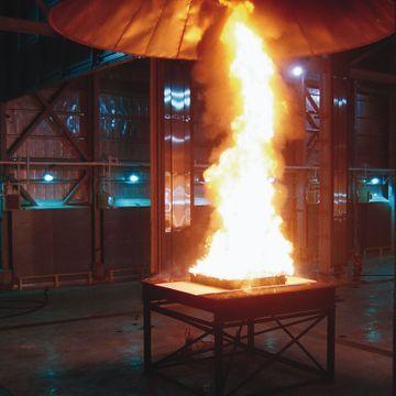 Fire test 3