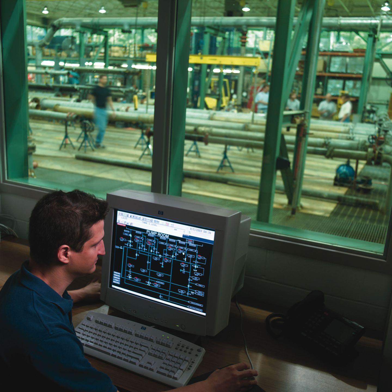 Hydraulics lab Computer