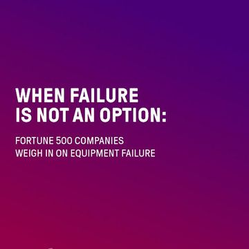 When Equipment Failure Is Not An Option