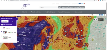 FM Global EQ Map