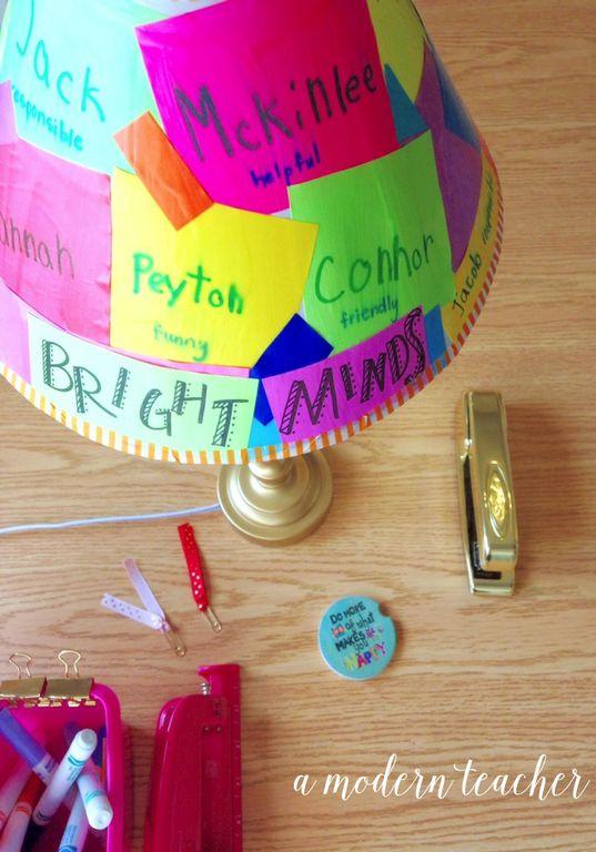 A Modern Teacher - Lampshade