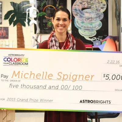 This Teacher Won $5,000 for Using Color