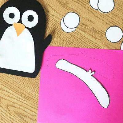 BLOG | Easy Penguin Winter Craft