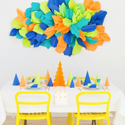 A Colorful Christmas Party by Paper & Stitch