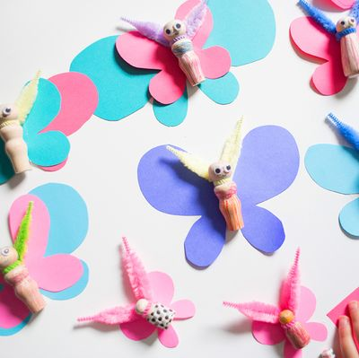 Butterfly Craft by Lay Baby Lay