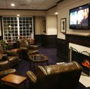 Ryder Cup Lounge with fireplace