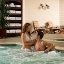 Spa Whirlpool Couple
