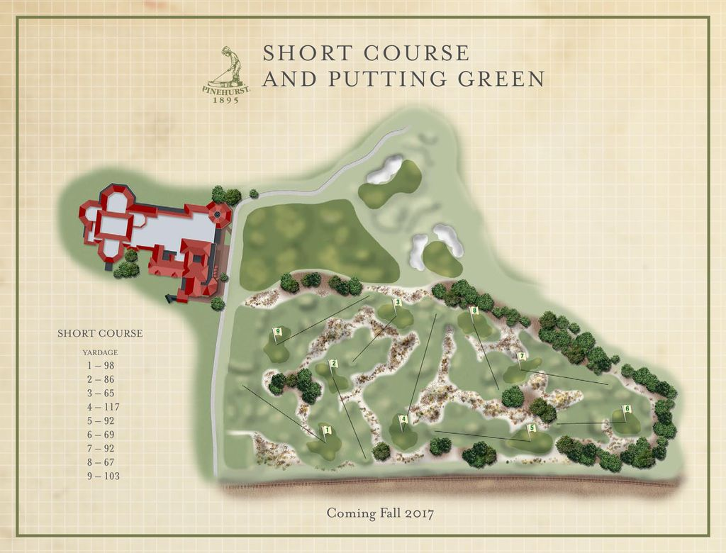 PINEHURST RESORT AND COUNTRY CLUB REVEALS ROUTING OF NEW SHORT COURSE