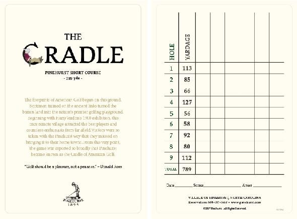 The Cradle scorecard