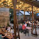 Pinehurst Brewing Co. outdoor area