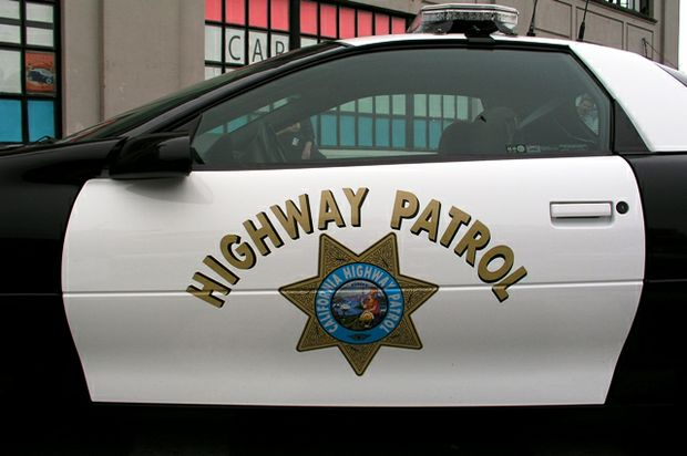 chp car parked