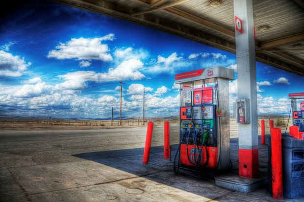 Gas Station Clouds Yuya Sekiguchi