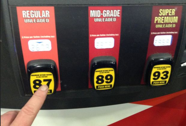 Choosing gas by Mike Mozart
