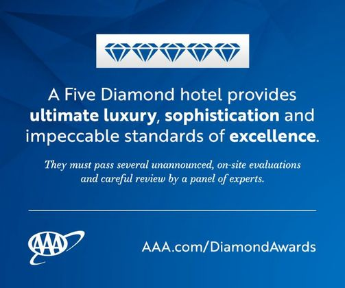 2018 5 Diamond Hotel Graphic