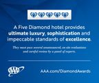Falling Rock at Nemacolin Shines with a AAA Five Diamond Rating