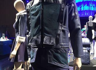 Upcycled design by: Jacky Lau, HonCC Fashion Technology Program graduate