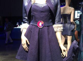 Upcycled design by: Chai Lim, HonCC Fashion Technology Program graduate