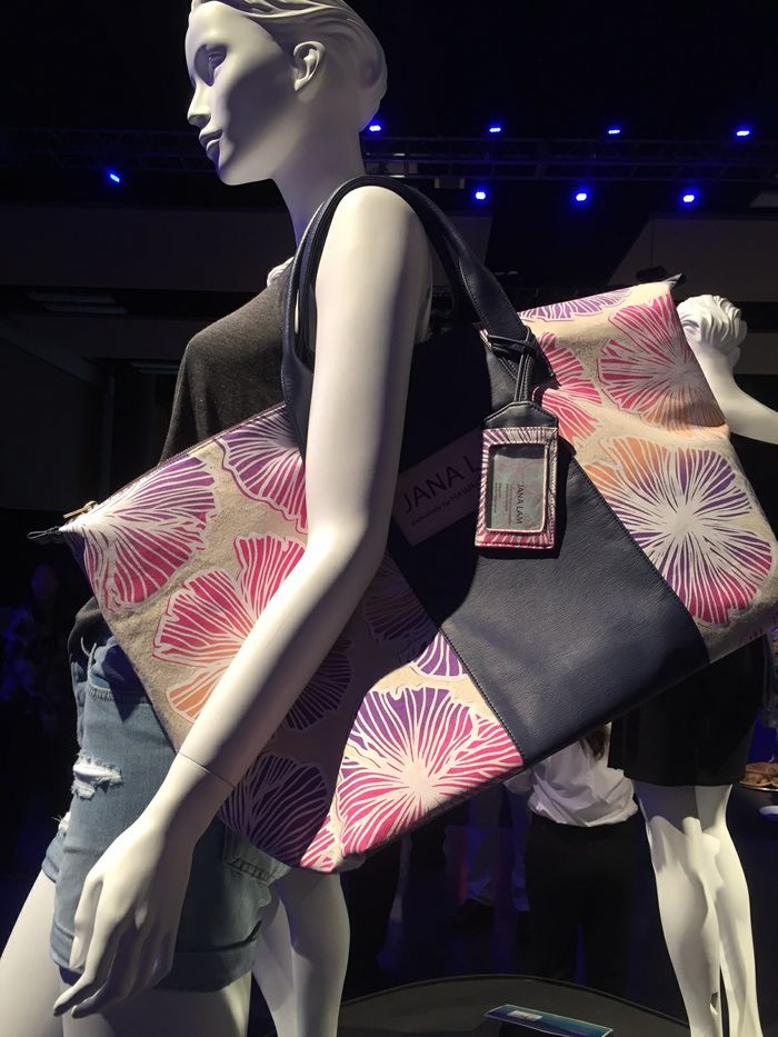 Upcycled design by: Jana Lam, Fashion Immersive Participant