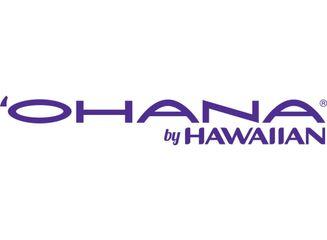 Ohana by Hawaiian Logo Purple
