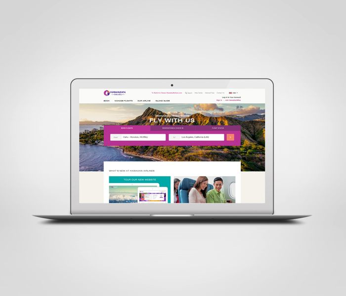 HawaiianAirlines.com homepage