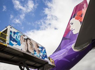 Hawaiian Airlines and Pow! Wow! Hawaii artist collaboration