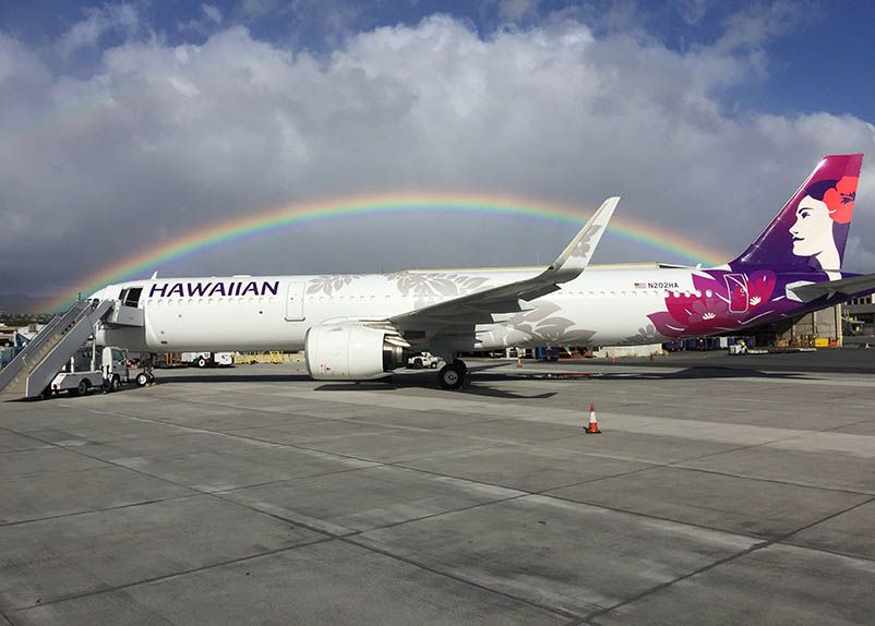 Hawaiian Airlines Welcomes First A321neo, Readies for U.S. West Coast Expansion