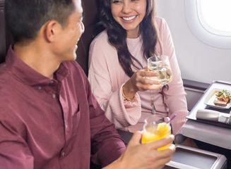 A321 First Class Meal
