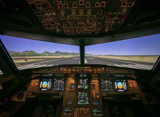 A321 SIM Interior