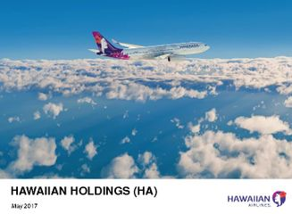 Hawaiian Holdings Bank of America Merrill Lynch 2017 Transportation Conference